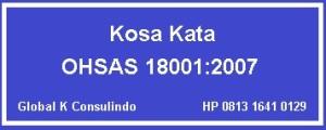 Kosa Kata OHSAS Kontraktor