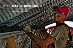 Sertifikat ISO kontraktor untuk Tender