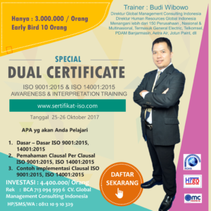 ISO 9001 2015 Awarenes Training