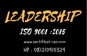 Leadership ISO 9001 2015