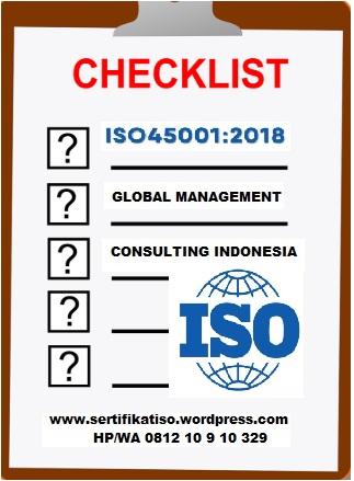 Checklist Ceklist ISO 45001:2018